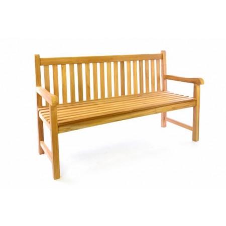 Dřevěná venkovní lavička na zahradu / terasu, 150 cm