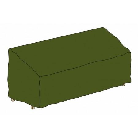 Ochranná plachta na zahradní lavici, zelená, 180 x 62 x 90 cm
