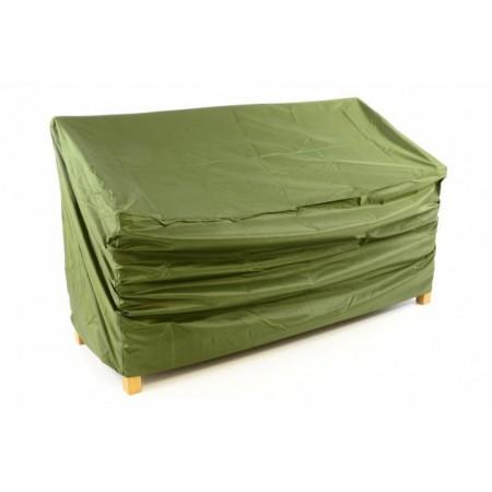 Ochranná plachta na zahradní lavici, zelená, 150 x 62 x 90 cm