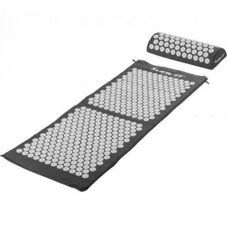 Akupresurní podložka na cvičení / na židli, 130x50cm, šedá