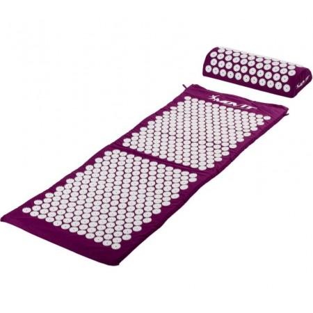 Akupresurní podložka na cvičení / na židli, 130x50cm, fialová