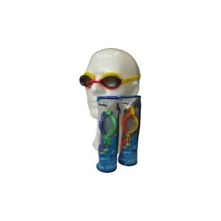 Závodní plavecké brýle junior, anti-fog, UV filtr, různé barvy