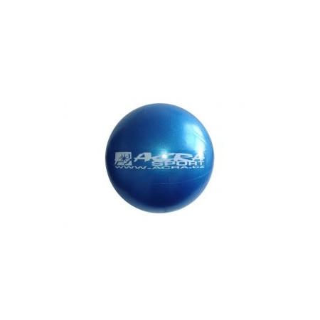 Nafukovací míč overball pro fitness a rehabilitace, modrý, 30 cm