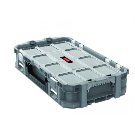 Plastový organizér na spojovací materiál v kufříku, 30x11,5x54 cm