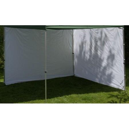 2 boční stěny k profi zahradním stanům 3x3 m, bílá