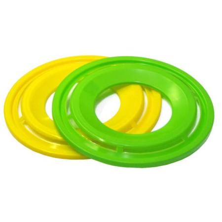 Házecí plastový prstenec žlutý, průměr 28 cm
