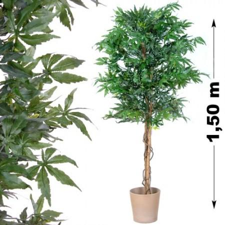 Umělá rostlina jako živá, Konopí 150 cm