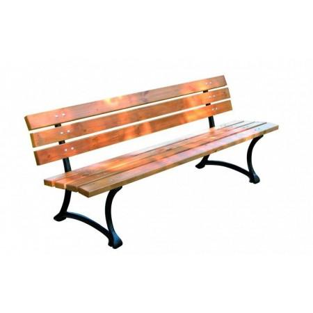 Robustní venkovní lavička, parky / zahrady, 180 cm