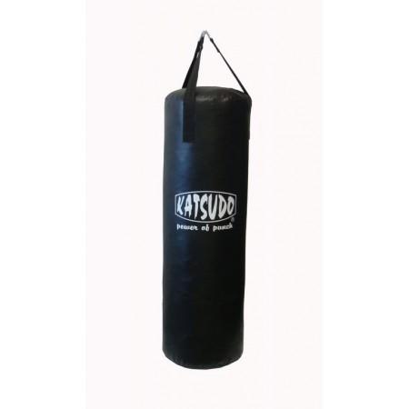 Větší boxovací pytel, látková střiž, 20 kg, černý, 90 cm