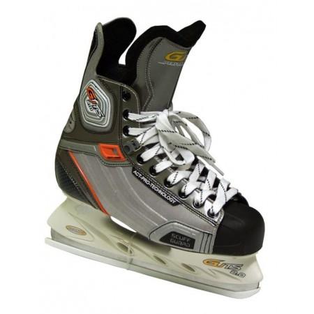 Chlapecké lední / hokejové brusle zavazovací, vel. 37