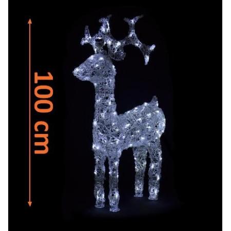 Sob - akrylová svítící figurka - 120 LED diod