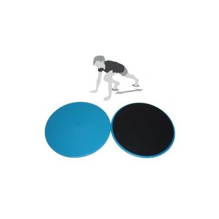 2 ks fitness slider, kulaté, průměr 18 cm