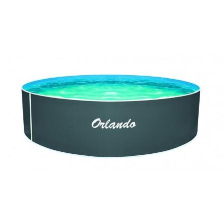 Kulatý nadzemní bazén Orlando, bez filtrace, modrý, 3,66x1,07 m