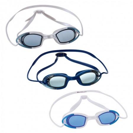 Závodní plavecké brýle pro dospělé, latex, anti-fog, různé barvy