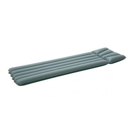 Nafukovací lehátko na vodu nylon / PVC, modro-béžové, 184x56 cm