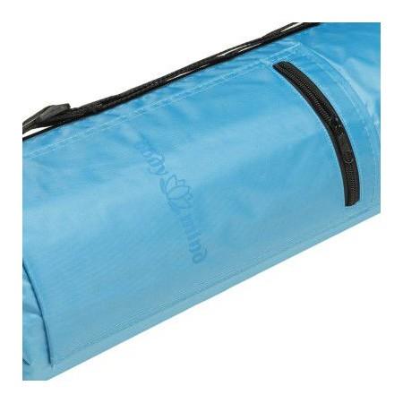 Taška na cvičební podložku, přes rameno, modrá