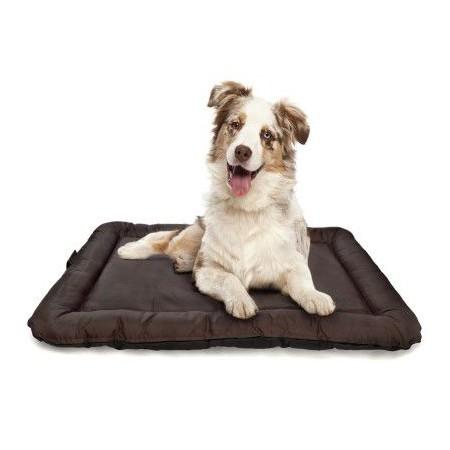 Políšek (postel) pro psy a kočky, polstrovaný, pratelný potah, 72x52 cm