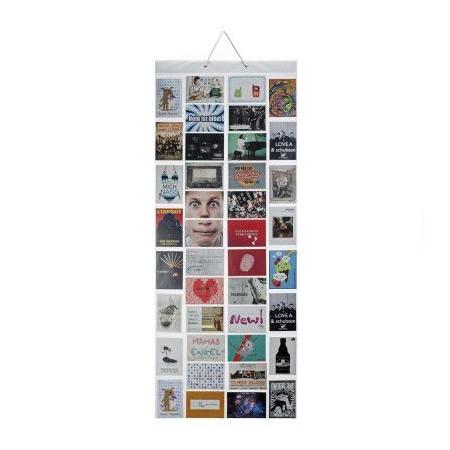 Závěsný rám na fotografie na stěnu, 40 fotografií, 55x140 cm