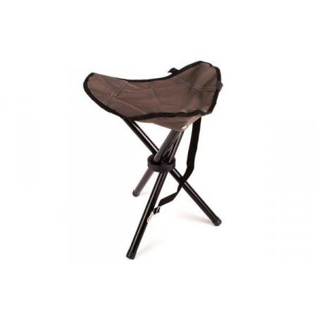 Malá skládací kempinková židlička - trojnožka, lehká - 550 g