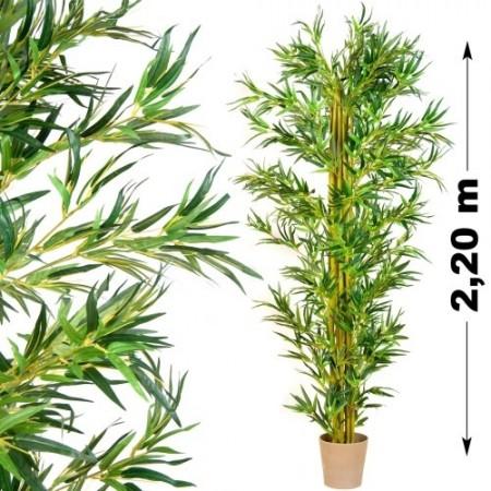 Umělá rostlina - Bambus jako živý, 220 cm