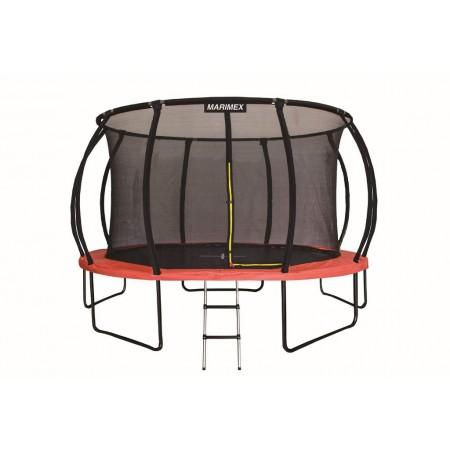 Velká venkovní trampolína s bezpečnostní sítí, průměr 457 cm