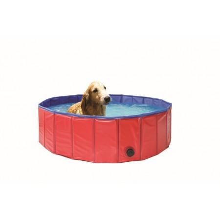 Skládací bazén pro psy kulatý, průměr 120 cm