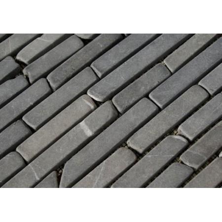 Dlažba / obklad - mozaika šedý mramor, 1 ks