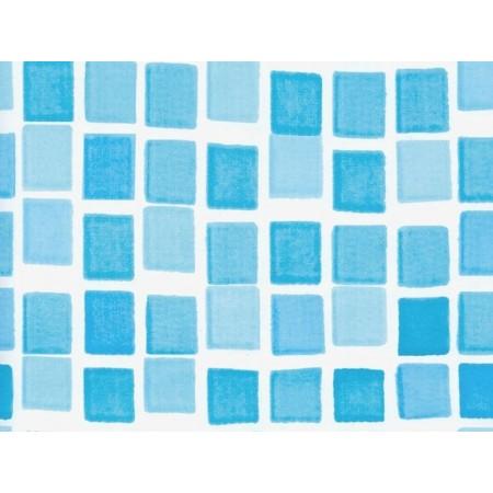 Fólie pro bazény Orlando 3,66x0,9 m, světle modrá mozaika