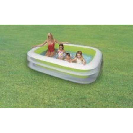 Rodinný nafukovací bazén obdélníkový, 175x262 cm