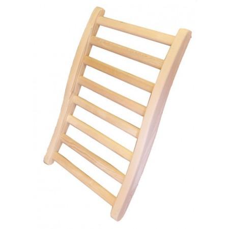 Dřevěné opěradlo zad pro infrasauny
