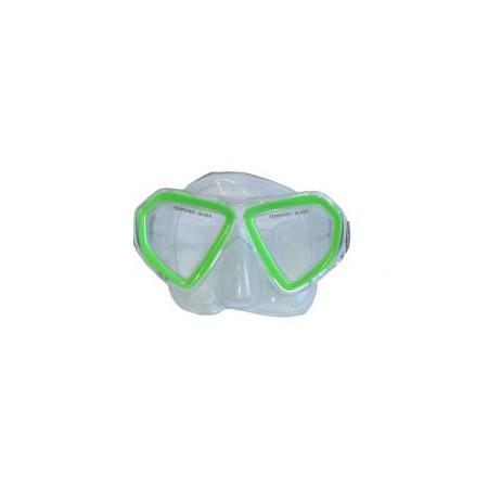 Dětská potápěčská maska, siliter, zelená, od 6 let