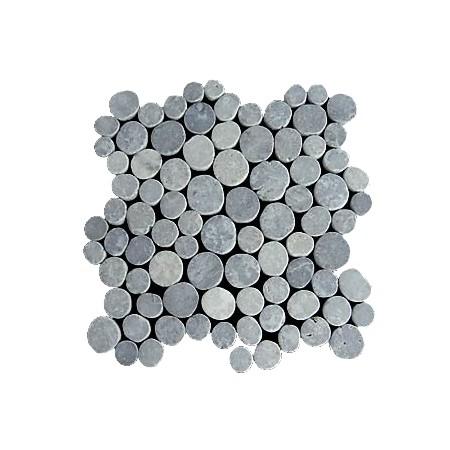 Obklad / dlažba- mramorová mozaika šedivá, 1 m2