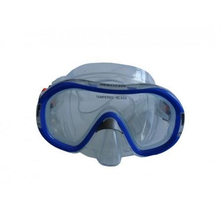 Dětské potápěčské brýle modré, siliter, od 8 let