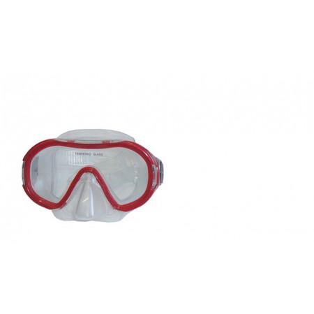 Dětské potápěčské brýle červené, siliter, od 8 let