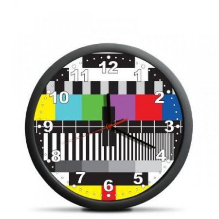 Designové dárkové nástěnné hodiny- monoskop, průměr 30 cm