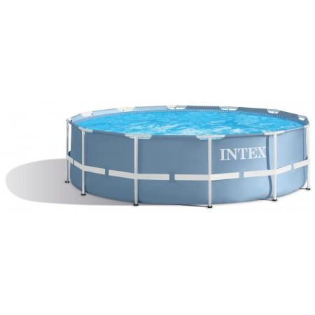 Pevný nadzemní bazén bez filtrace, kulatý, 3,66x0,99 m