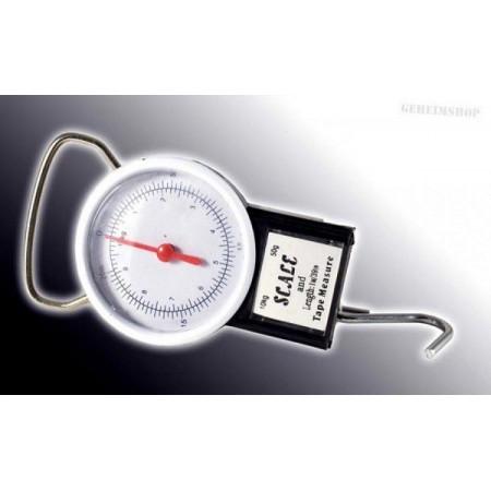 Závěsná váha analogová, váživost 22 kg