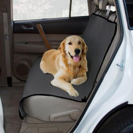Textilní deka na sedačky pro převoz psů v autě, 130x100 cm