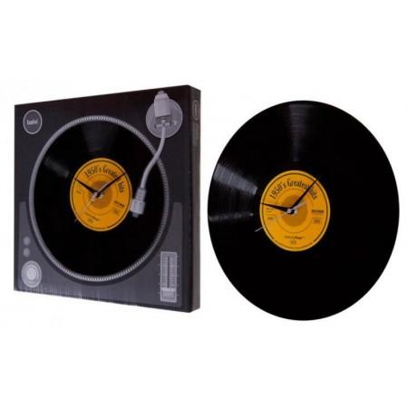 Dárek pro hudební nadšence- nástěnné hodiny vinylová deska