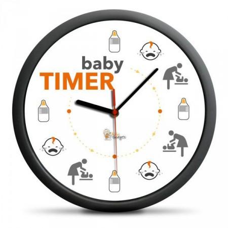 Vtipné hodiny pro maminky- čas dítěte, průměr 30 cm