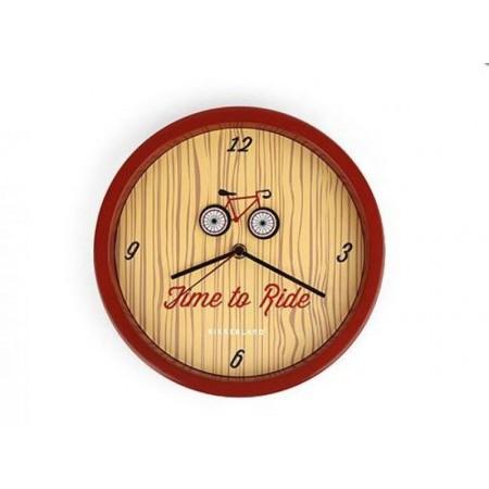 """Dárek pro cyklisty- hodiny """"čas na kolo"""", průměr 25,4 cm"""