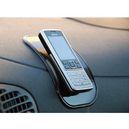 Neklouzavá nanopodložka do auta, černá