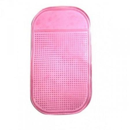 Neklouzavá nanopodložka do auta, růžová
