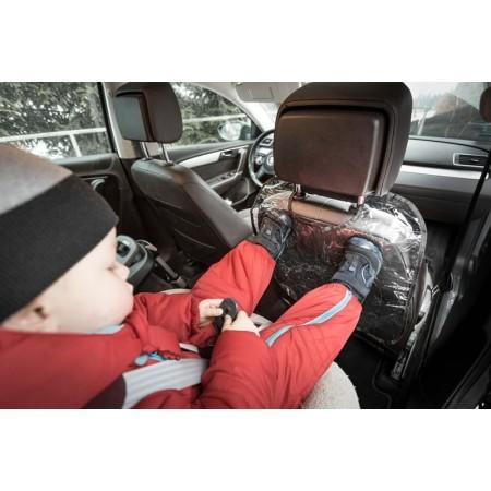 Ochranný kryt na zadní stranu sedače, průhledný