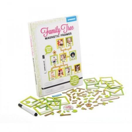 Rodinný rodokmen- magnetky na ledničku / nástěnku