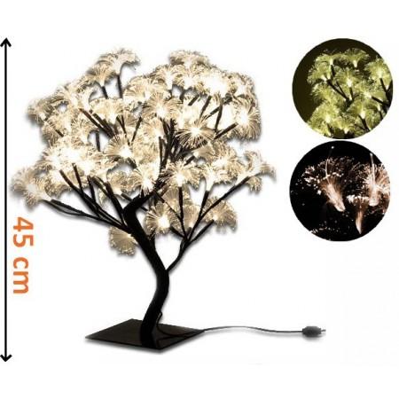 Strom s květy - dekorativní LED osvětlení, 45 cm