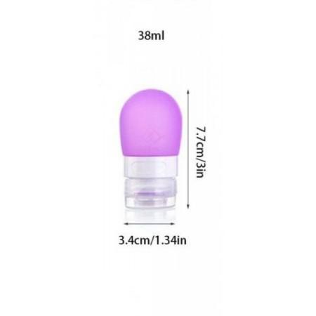 Cestovní lahvička na kosmetiku, fialová, 38 ml