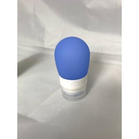 Cestovní lahvička na kosmetiku, modrá, 38 ml