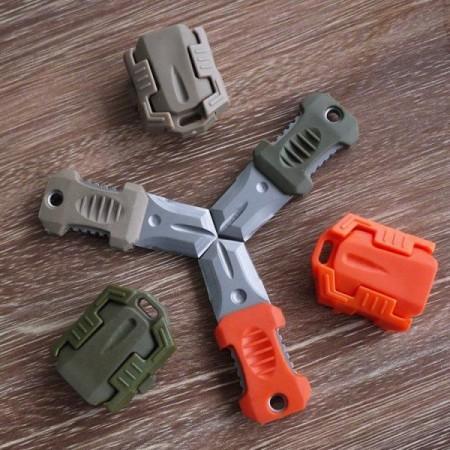 Miniaturní nožík do přírody, plast / nerezová ocel, 7,5 cm