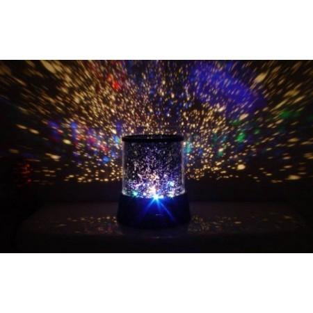 Projektor noční oblohy do dětského pokoje, na baterie
